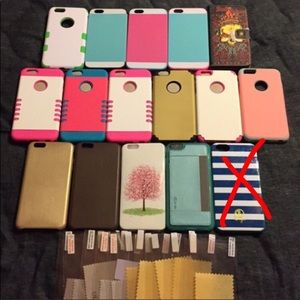 Accessories - 16 iPhone 6 plus cases. Buy 2 get 1 free